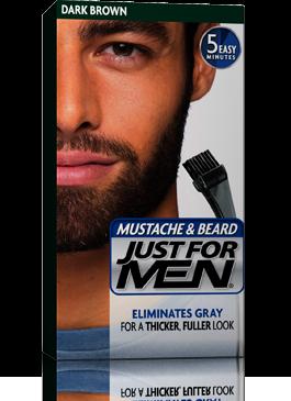 Just for Men Mustache & Beard Gel Dark Brown
